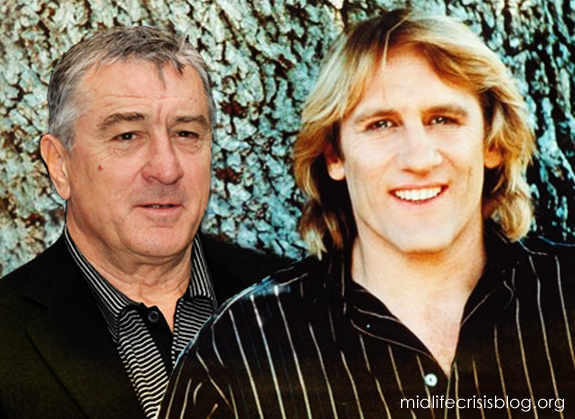 Gerard Depardieu and Robert De Niro