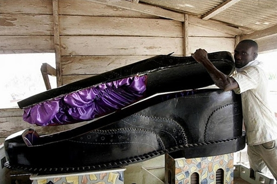 African Coffin