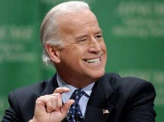 Joe Biden up close