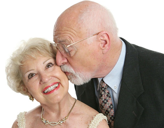 First Time Married At 68