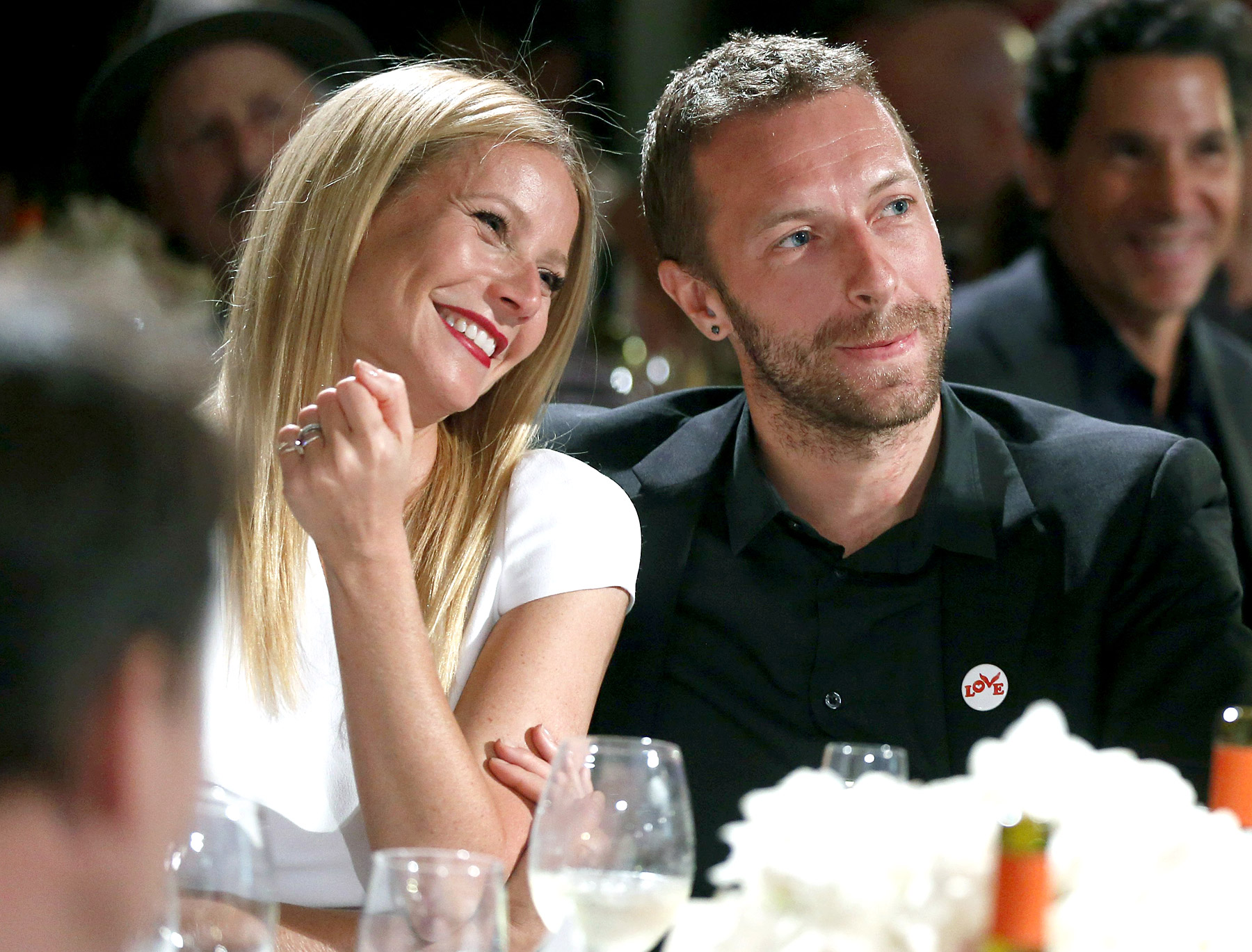 Gwyneth and Chris martin